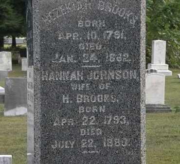 JOHNSON BROOKS, HANNAH - Lorain County, Ohio | HANNAH JOHNSON BROOKS - Ohio Gravestone Photos