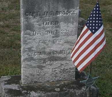 BROOKS, LYDIA K. - Lorain County, Ohio | LYDIA K. BROOKS - Ohio Gravestone Photos