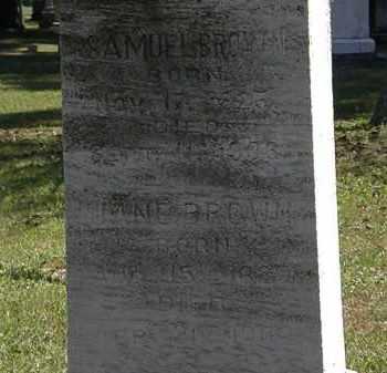 BROWN, JANE - Lorain County, Ohio   JANE BROWN - Ohio Gravestone Photos