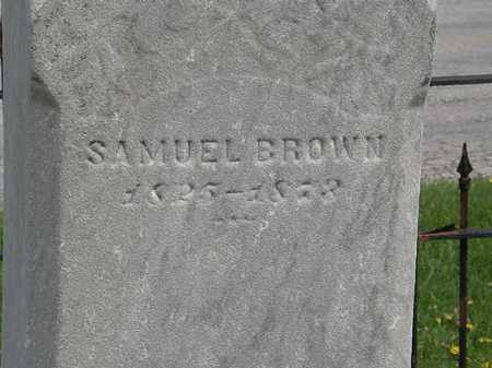 BROWN, SAMUEL - Lorain County, Ohio   SAMUEL BROWN - Ohio Gravestone Photos