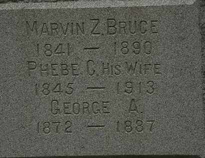BRUCE, PHEBE C. - Lorain County, Ohio | PHEBE C. BRUCE - Ohio Gravestone Photos
