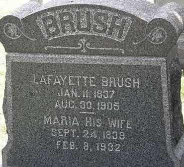 BRUSH, MARIA - Lorain County, Ohio | MARIA BRUSH - Ohio Gravestone Photos