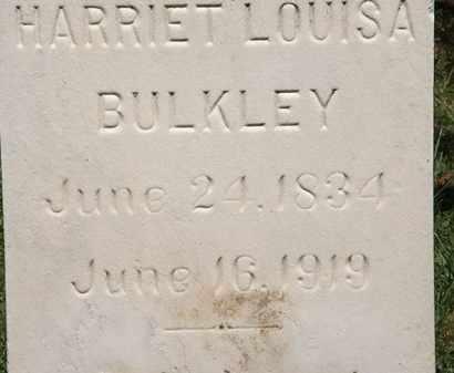 BULKLEY, HARRIET LOUISA - Lorain County, Ohio   HARRIET LOUISA BULKLEY - Ohio Gravestone Photos