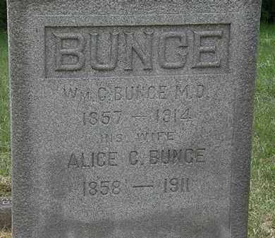 BUNCE, WM. G. - Lorain County, Ohio | WM. G. BUNCE - Ohio Gravestone Photos