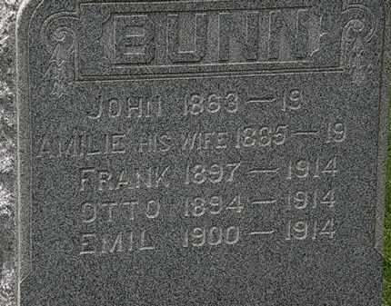 BUNN, OTTO - Lorain County, Ohio | OTTO BUNN - Ohio Gravestone Photos