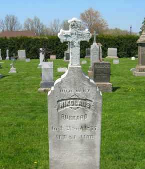 BURKARD, NICHOLAS - Lorain County, Ohio | NICHOLAS BURKARD - Ohio Gravestone Photos