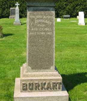 BURKART, P. - Lorain County, Ohio | P. BURKART - Ohio Gravestone Photos
