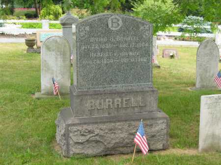 BURRELL, IRVING J. - Lorain County, Ohio | IRVING J. BURRELL - Ohio Gravestone Photos