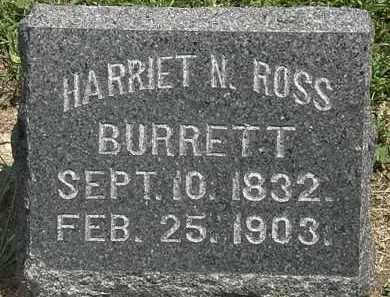BURRETT, HARRIET N. - Lorain County, Ohio | HARRIET N. BURRETT - Ohio Gravestone Photos