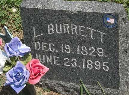 BURRETT, L. - Lorain County, Ohio   L. BURRETT - Ohio Gravestone Photos