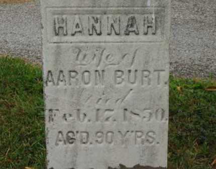 BURT, AARON - Lorain County, Ohio | AARON BURT - Ohio Gravestone Photos