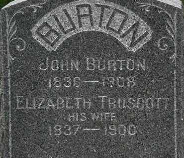 BURTON, JOHN - Lorain County, Ohio | JOHN BURTON - Ohio Gravestone Photos