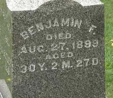 BUTLER, BENJAMIN F. - Lorain County, Ohio | BENJAMIN F. BUTLER - Ohio Gravestone Photos