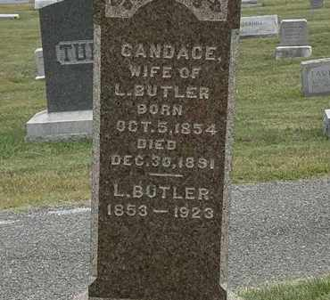 BUTLER, CANDACE - Lorain County, Ohio | CANDACE BUTLER - Ohio Gravestone Photos