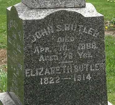 BUTLER, ELIZABETH - Lorain County, Ohio   ELIZABETH BUTLER - Ohio Gravestone Photos