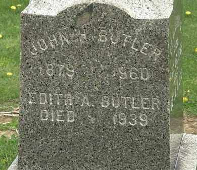 BUTLER, EDITH A. - Lorain County, Ohio | EDITH A. BUTLER - Ohio Gravestone Photos