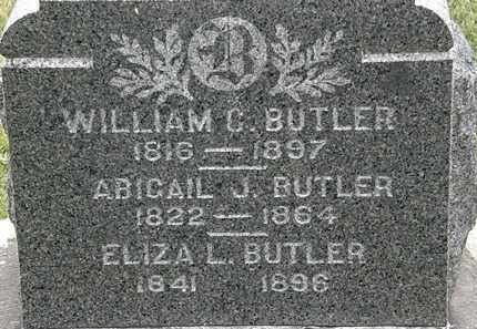 BUTLER, ABIGAIL J. - Lorain County, Ohio | ABIGAIL J. BUTLER - Ohio Gravestone Photos