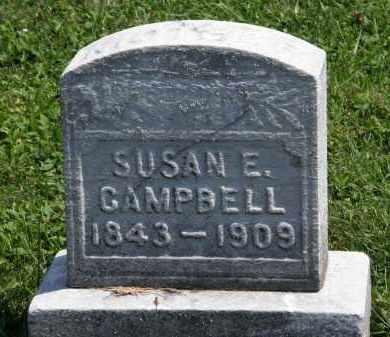 CAMPBELL, SUSAN E. - Lorain County, Ohio | SUSAN E. CAMPBELL - Ohio Gravestone Photos