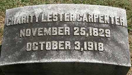 CARPENTER, CHARITY LESTER - Lorain County, Ohio | CHARITY LESTER CARPENTER - Ohio Gravestone Photos