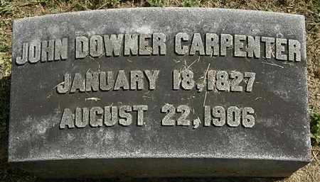 CARPENTER, JOHN DOWNER - Lorain County, Ohio | JOHN DOWNER CARPENTER - Ohio Gravestone Photos