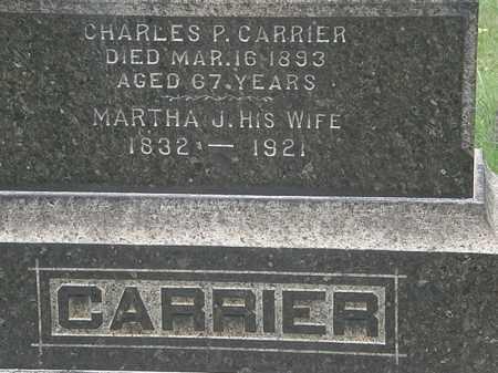 CARRIER, CHARLES P. - Lorain County, Ohio | CHARLES P. CARRIER - Ohio Gravestone Photos