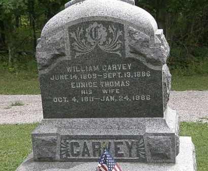 THOMAS CARVEY, EUNICE - Lorain County, Ohio | EUNICE THOMAS CARVEY - Ohio Gravestone Photos