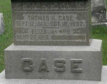 CASE, ELIZA - Lorain County, Ohio | ELIZA CASE - Ohio Gravestone Photos