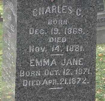 CHAMBERLAIN, CHARLES C. - Lorain County, Ohio | CHARLES C. CHAMBERLAIN - Ohio Gravestone Photos