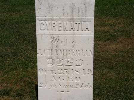 CHAMBERLIN, CYRENATIA - Lorain County, Ohio   CYRENATIA CHAMBERLIN - Ohio Gravestone Photos