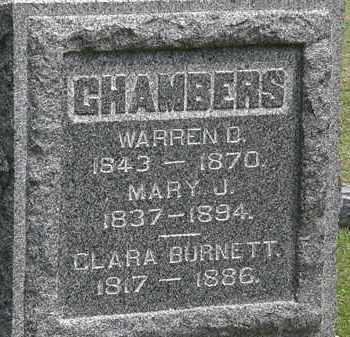 HAMBERS, MARY J. - Lorain County, Ohio | MARY J. HAMBERS - Ohio Gravestone Photos