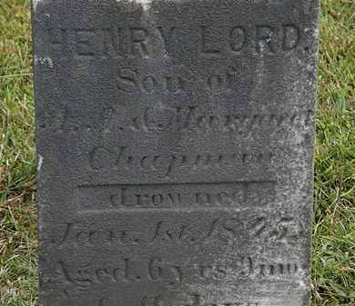 CHAPMAN, ?.?. - Lorain County, Ohio | ?.?. CHAPMAN - Ohio Gravestone Photos