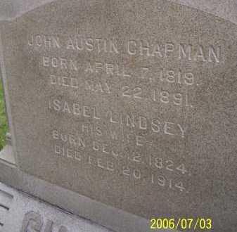 LINDSEY CHAPMAN, ISABEL - Lorain County, Ohio | ISABEL LINDSEY CHAPMAN - Ohio Gravestone Photos