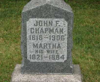 CHAPMAN, MARTHA - Lorain County, Ohio   MARTHA CHAPMAN - Ohio Gravestone Photos