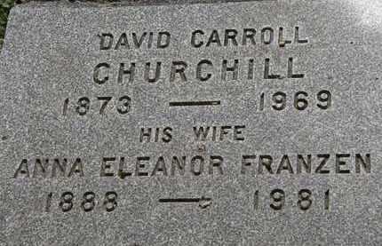 CHURCHILL, DAVID CARROLL - Lorain County, Ohio | DAVID CARROLL CHURCHILL - Ohio Gravestone Photos