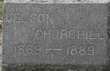 CHURCHILL, NELSON - Lorain County, Ohio   NELSON CHURCHILL - Ohio Gravestone Photos