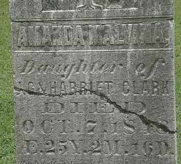 CLARK, J.G. - Lorain County, Ohio | J.G. CLARK - Ohio Gravestone Photos