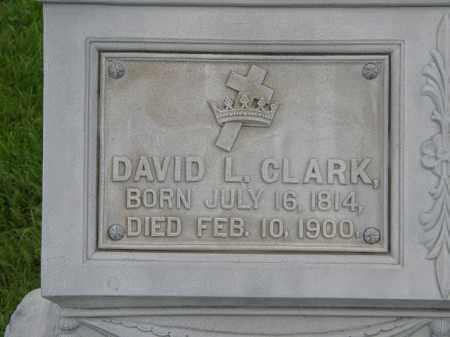 CLARK, DAVID L. - Lorain County, Ohio | DAVID L. CLARK - Ohio Gravestone Photos