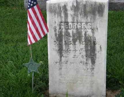 CLARK, GEORGE C. - Lorain County, Ohio   GEORGE C. CLARK - Ohio Gravestone Photos