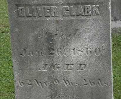 CLARK, OLIVER - Lorain County, Ohio   OLIVER CLARK - Ohio Gravestone Photos
