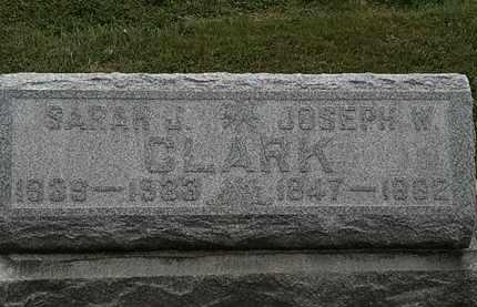 CLARK, SARAH J. - Lorain County, Ohio | SARAH J. CLARK - Ohio Gravestone Photos