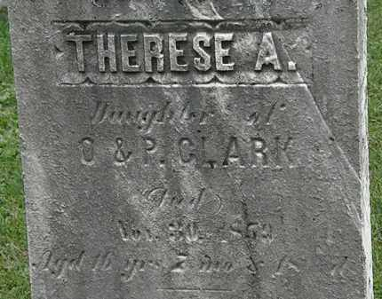 CLARK, THERESE A. - Lorain County, Ohio | THERESE A. CLARK - Ohio Gravestone Photos