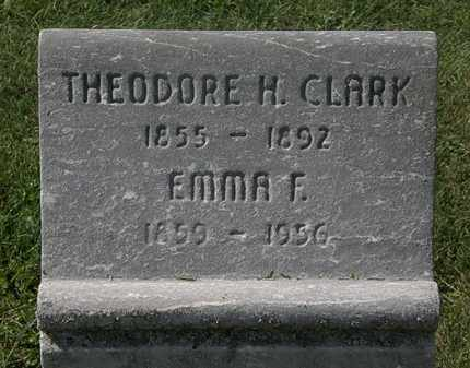 CLARK, THEODORE - Lorain County, Ohio | THEODORE CLARK - Ohio Gravestone Photos