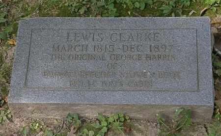 CLARKE, LEWIS - Lorain County, Ohio   LEWIS CLARKE - Ohio Gravestone Photos