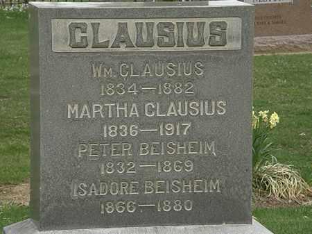 CLAUSIUS, MARTHA - Lorain County, Ohio | MARTHA CLAUSIUS - Ohio Gravestone Photos