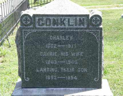 CONKLIN, CARRIE - Lorain County, Ohio | CARRIE CONKLIN - Ohio Gravestone Photos