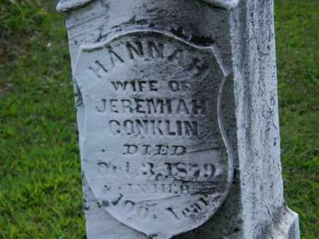 CONKLIN, HANNAH - Lorain County, Ohio   HANNAH CONKLIN - Ohio Gravestone Photos