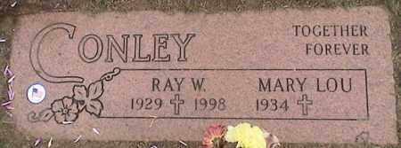 CONLEY, RAY - Lorain County, Ohio | RAY CONLEY - Ohio Gravestone Photos