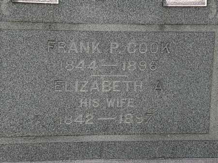 COOK, FRANK P. - Lorain County, Ohio | FRANK P. COOK - Ohio Gravestone Photos