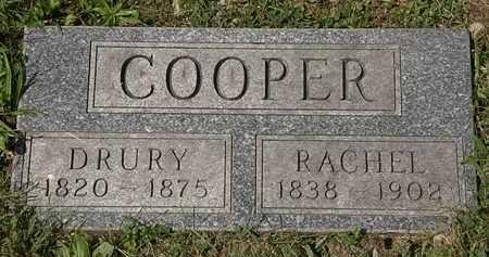 COOPER, DRURY - Lorain County, Ohio   DRURY COOPER - Ohio Gravestone Photos