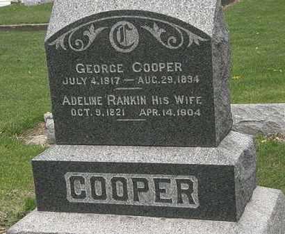 COOPER, GEORGE - Lorain County, Ohio | GEORGE COOPER - Ohio Gravestone Photos